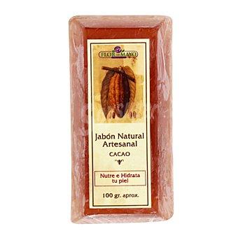 Flor de Mayo Lingote de jabón cacao 100 g