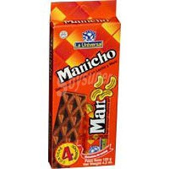 la Universal Manicho de chocolate Paquete 112 Gr