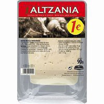 Altzania Queso semi bandeja 90 g