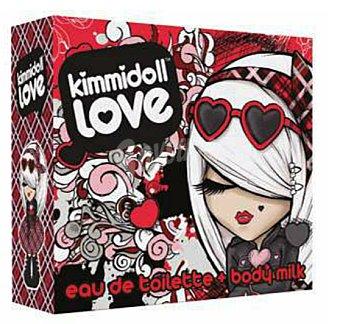 KIMMIDOLL Lote infantil Love eau de toilette + Body milk 2 unidades de 100 ml