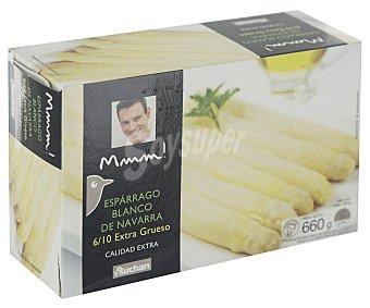Mmm Auchan Espárragos blancos de Navarra extra gruesos (6/10 piezas) 425g