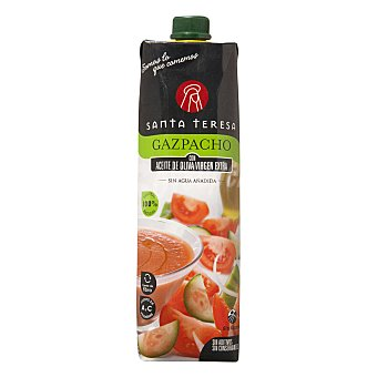 Santa Teresa Gazpacho con aceite de oliva virgen extra 1 l