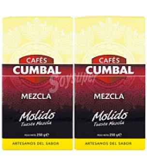 Cumbal Café mezcla molino Pack de 2x250 g