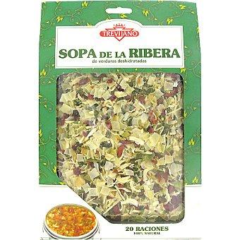 Trevijano Sopa de la Ribera deshidratada Estuche 200 g