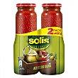 Tomate frito con aceite de oliva Pack de 2 tarros de 460 g Solís
