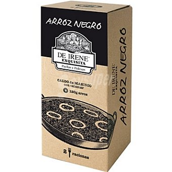 De irene Arroz negro 2 raciones Envase 600 g