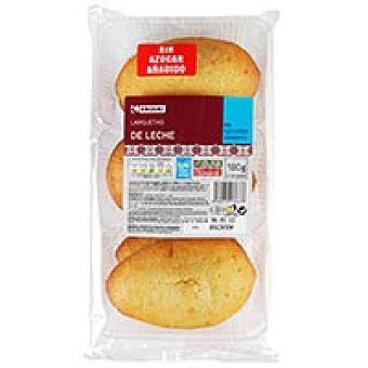 Eroski Largueta de leche sin azúcar 12 unid