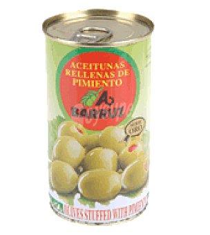 Barruz Aceitunas manzanilla rellenas de pimientos 150 g