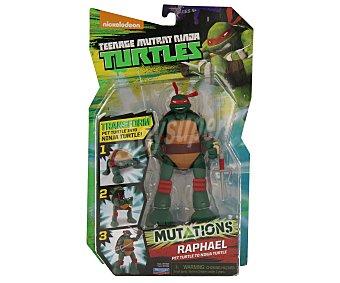 GIOCHI PREZIOSI Figuras de las Tortugas Ninja transformables a mascotas, modelo Pet to Ninja, 15 centímetros de alto 1 unidad