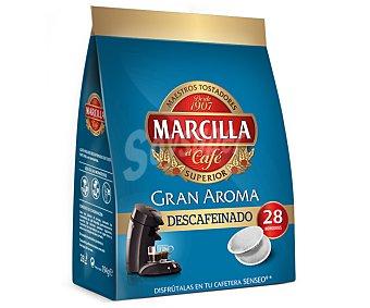 Marcilla Café Senseo Descafeinado 28 u