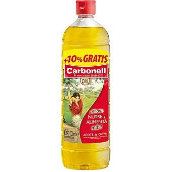 Carbonell Aceite de oliva suave 0,4 Botella 1 l + 10% gratis
