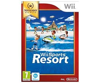 DEPORTES Videojuego Sports Resort Edición Selects para Nintendo Wii y Compatible con Wii U. Género: Deportes. Recomendación por edad pegi: +7 - 1u