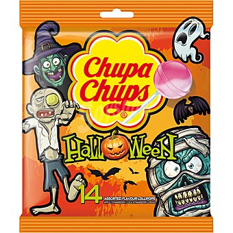 Chupa Chups Caramelos con palo halloween 14 ud