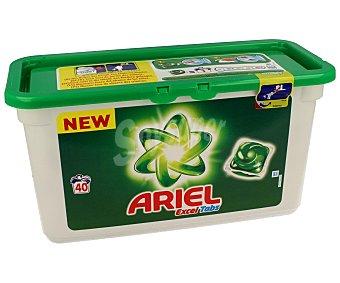 Ariel Detergente en cápsulas para lavadora con gel líquido 40 c