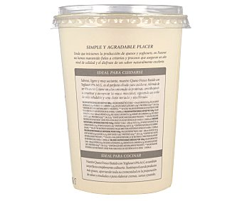 El Pastoret Queso fresco batido 0% Tarrina 450 g