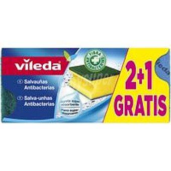 Vileda Salvauñas antibacterias Pack 3 unid