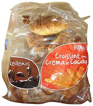 Hacendado Croissant relleno chocolate industrial Paquete 375 g