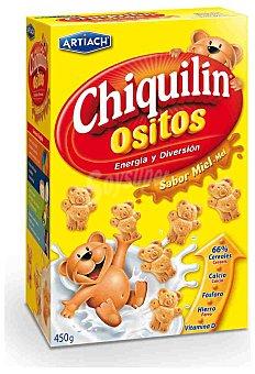 Chiquilín Galletas de cereales ositos con miel Chiquilín 450 g