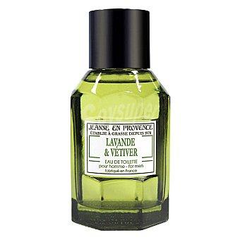 Jeanne en Provence Agua de colonia para hombre Lavanda & Vetiter 100 ml