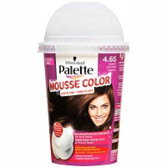Palette Schwarzkopf Tinte castaño chocolate Nº4.65 Mousse Color Caja 1 unid