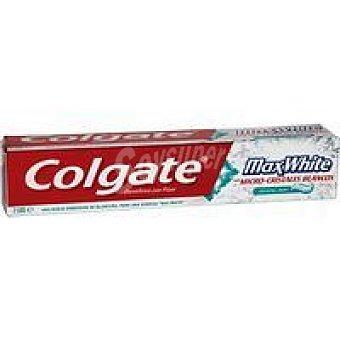 COLGATE Dentífrico Max blanqueante tubo 75 ml
