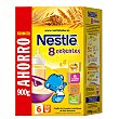 Papilla 8 cereales caja  900 gr Nestlé