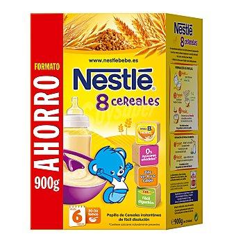 Nestlé Papillas Nestlé Papilla 8 Cereales con Miel y Bífidus 900 g