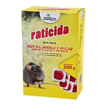 Ibys Home Raticida en monodosis 200 g