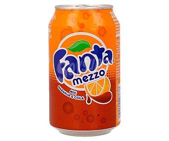 Fanta Refresco de naranja y cola Lata de 33 centilitros