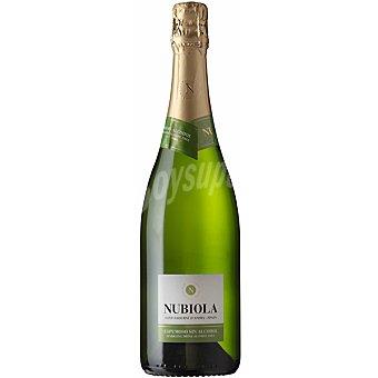 NUBIOLA vino espumoso sin alcohol botella  75 cl