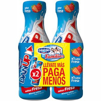 Danone Dan`up de fresa Pack 2x600 ml