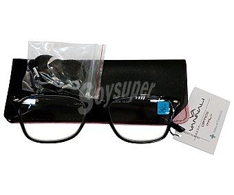 Vannali Gafas de lectura unisex para vista cansada (+2), con funda y cordón vannali