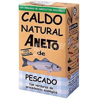 Aneto Caldo natural de pescado con verduras de procedencia ecológica Envase 1 l