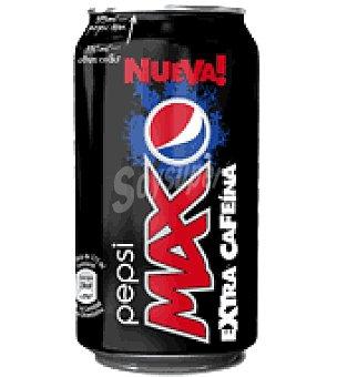 Pepsi Refresco cola max extra cafeina 375 ml