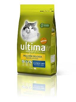 Ultima Affinity Alimento Seco para Gato Adulto Digestión Delicada 1,5 kg