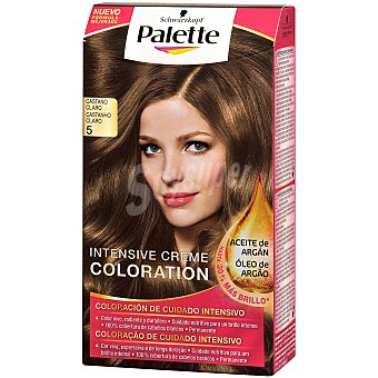Palette Schwarzkopf Tinte Intense Color Cream 5 Castaño Claro Caja 1 ud