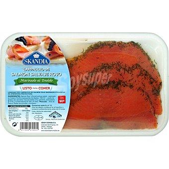 SKANDIA Carpaccio de salmón rojo al eneldo bandeja 90 g