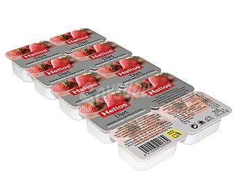 Helios Mermelada diet fresa en 10 tarrinas 200 g