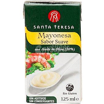 Santa Teresa Mayonesa sabor suave con aceite de oliva Envase 125 ml