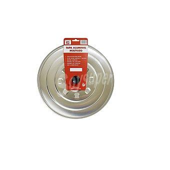 Carrefour Tapa aluminio multi.tecnho24cm 1 ud