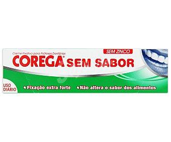 Corega Crema adhesiva para prótesis dentaria sin sabor Tubo 40 ml