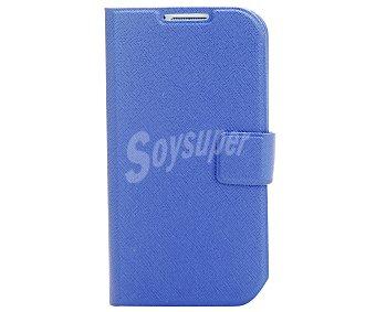 Auchan Funda con tapa para Samsung Galaxy S4 azul