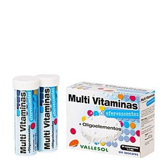 VALLESOL Multi Vitaminas + Oligoelementos sin azúcares 24 comprimidos