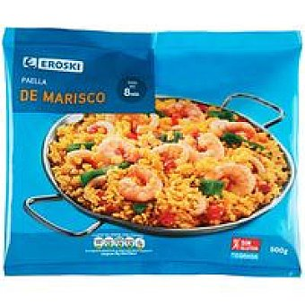 Eroski Paella de marisco Bolsa 500 g