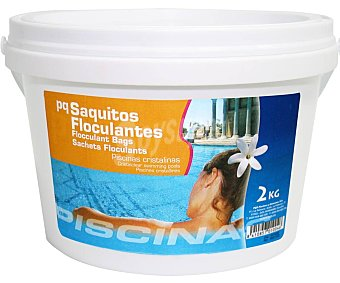 Pqs Floculante granulado en saquitos individuales de 125 G 2 kg