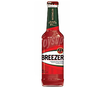 BACARDI BREEZER Combinado de ron con sandia botella 275 cl Botella 275 cl