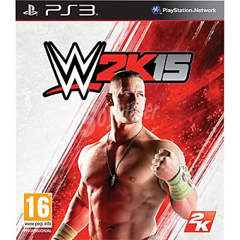 PS3 Videojuego WWE 2K15 para PS3 2K