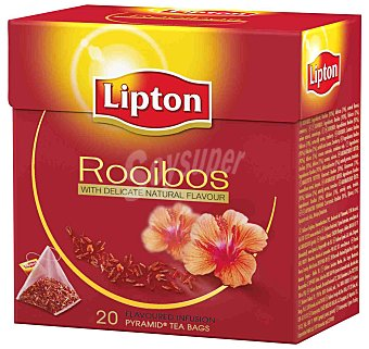 LIPTON Infusión de Rooibos 20 Unidades (40 Gramos)
