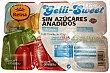 Gelatina multifrutas sin azúcar Pack 6 x 100 g - 600 g Postres Reina