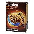 Cereales con fibra sabor chocolate 500 g Carrefour